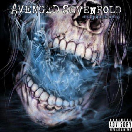 testo nightmare avenged sevenfold copertina titolo e anteprima dal nuovo