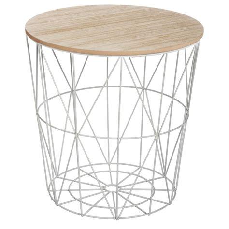table d appoint design table d appoint design quot kumi quot 41cm gris