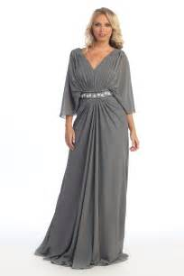 new long mother of the bride groom plus size formal gown