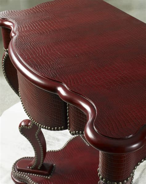 leather upholstery trim hitting the nail on the head of style hooker furniture