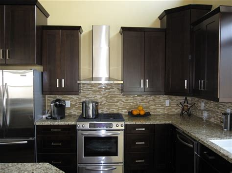 decorating ideas kitchen cabinets espresso with glass tile best colors kitchens reface kitchen cabinets