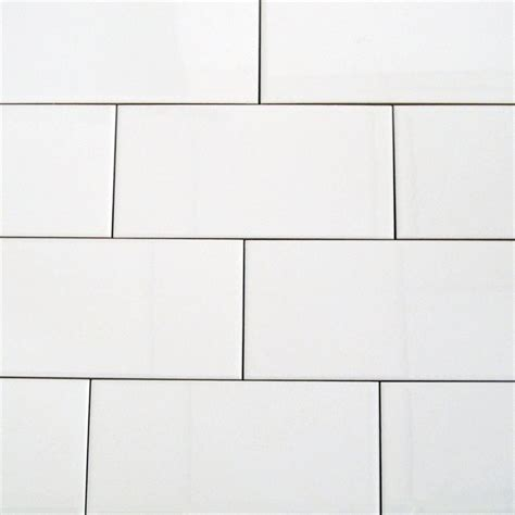 10 X 8 White Ceramic Tile - duratile 60 x 30cm white ceramic wall tile bunnings