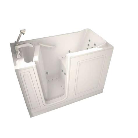 american standard walk in bathtub reviews shop american standard walk in baths walk in bath 48 in l