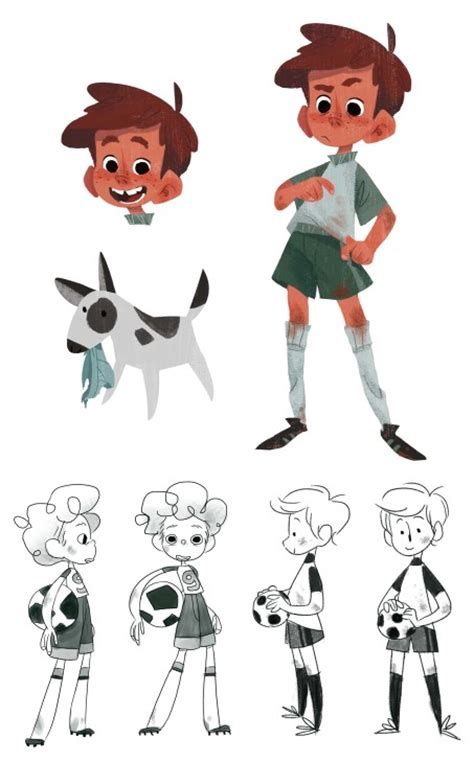 best character designers character design page