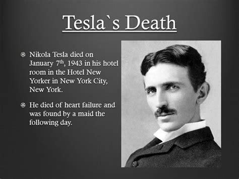 Tesla Died Nikola Tesla And Edison Ppt