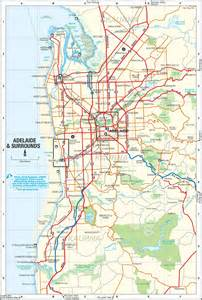 map maps adelaide suburbs map