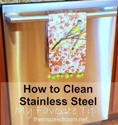 what can i use to clean my stainless steel sink how to clean stainless steel appliances my favorite tip