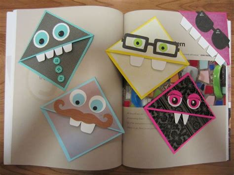 Cool Origami Bookmarks - the 25 best bookmark ideas on origami