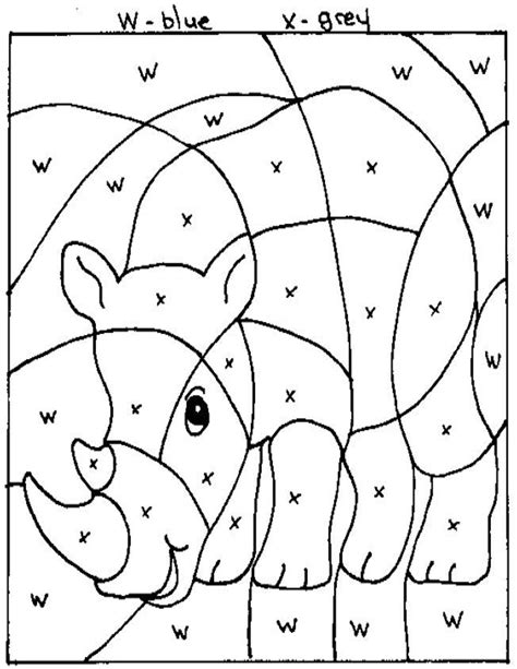 color by numbers animals coloring pages coloring pictures of zoo animals kids coloring europe