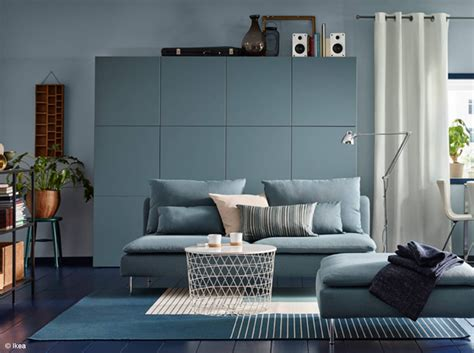 Idee Deco Salon Bleu by Id 233 E D 233 Co Salon Bleu Gris Fashion Designs