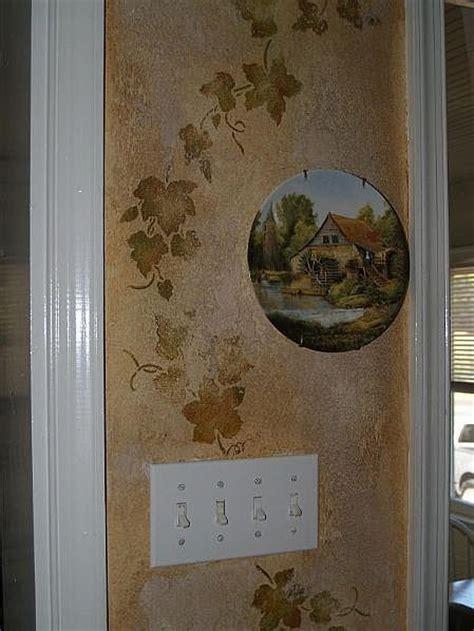 decorate  tuscan wall decor stencils stencils