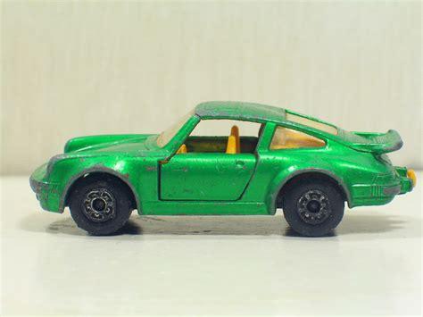 matchbox porsche 911 porsche 911 turbo 3 verde met quot 1 56 quot lesney