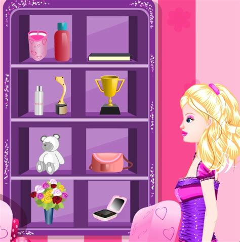 Barbie Room Game - free kids games barbie groom the room home duties
