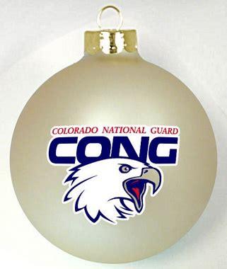 national guard custom christmas ornament