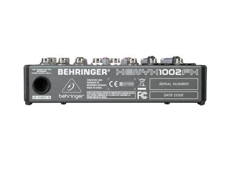 Jual Mixer Behringer Xenyx 1002fx behringer xenyx 1002fx