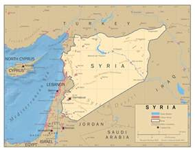 Syria On Map by Turkey On Syria Map