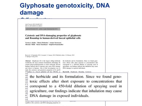 How To Detox Glyphosate From by Glyphosate