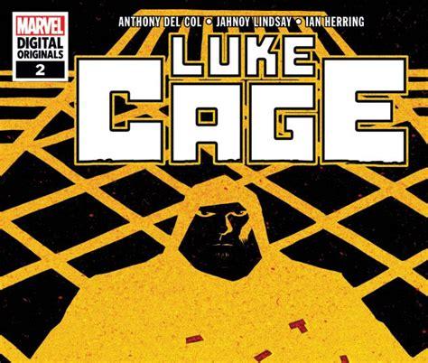 Digital Original luke cage marvel digital original 2018 2 comics