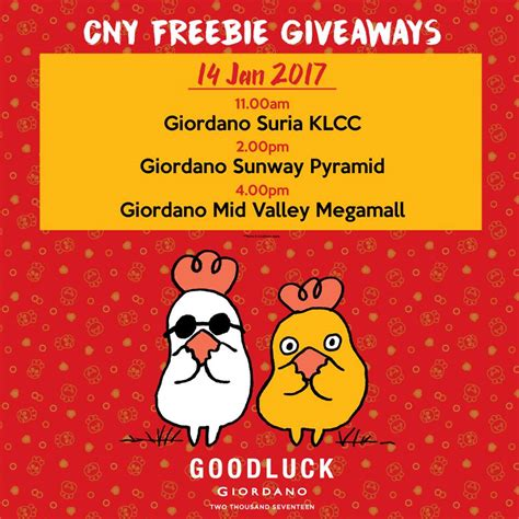 Giveaways And Freebies - free giordano vouchers and freebies giveaway
