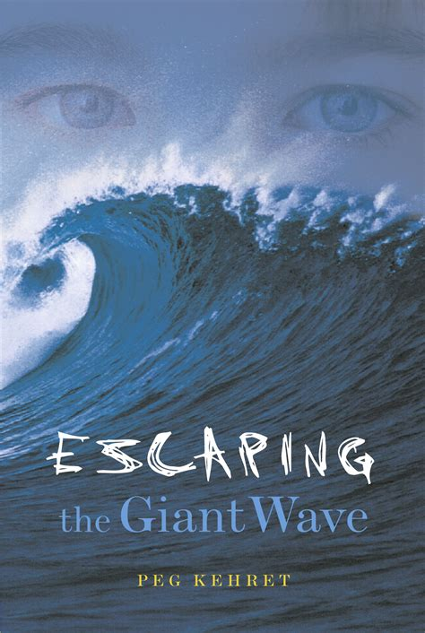 escape the coming books escaping the wave book by peg kehret official