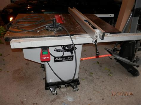 Delta Industrial Table Saw 10 Quot Model 36 653c Shore