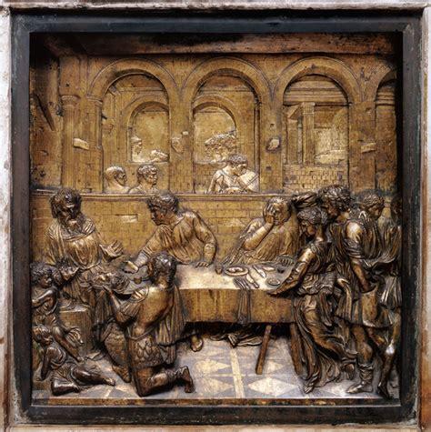 banchetto di erode la arte donatello 1386 1466 e la nuova scultura