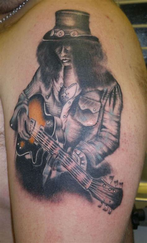 slash tattoo slash