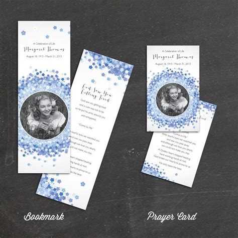 memorial prayer cards template 30 best funeral program templates images on