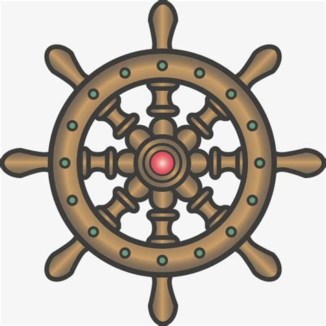 boat steering wheel icon continental antique boat steering wheel boat vector