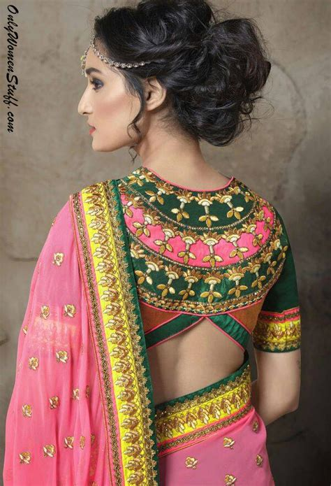 saree jacket design new 100 new blouse designs pattern back neck designer
