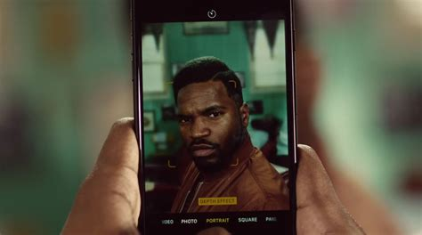 o comercial do modo retrato do iphone 7 plus update or die