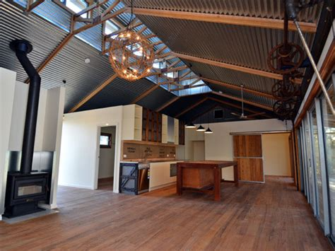 shearing shed house winning homes