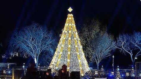 watch the obama s light the national christmas tree