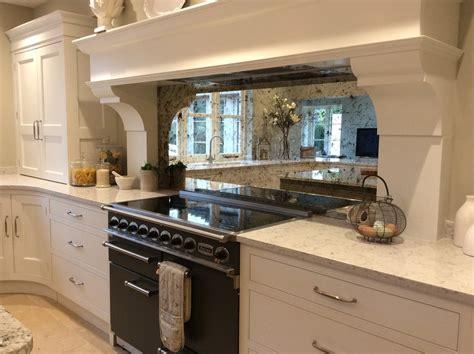 mirror backsplash in kitchen kitchens mirrorworks antique mirror glass from