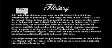 exton witch house man explores possibly haunted house sf globe