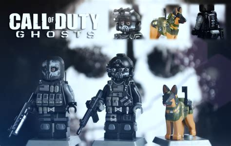 lego call of duty ghosts keegan logan amp riley with the
