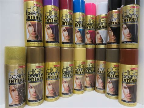 Jual Temporary Hair Color Spray by High Beams Temporary Spray On Hair Color 2 7oz