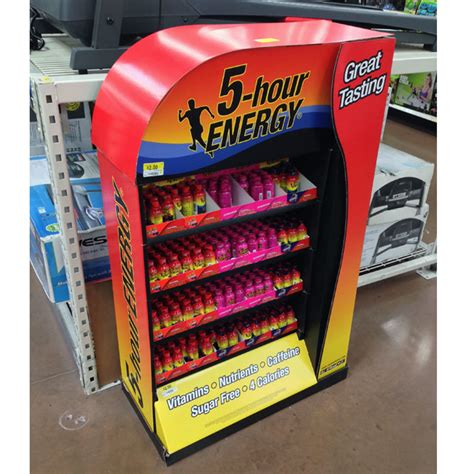 5 Hour Energy Shelf by Trending Pop In Store Edition 24 Point Of Purchase