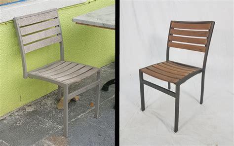 patio furniture refinish and repair