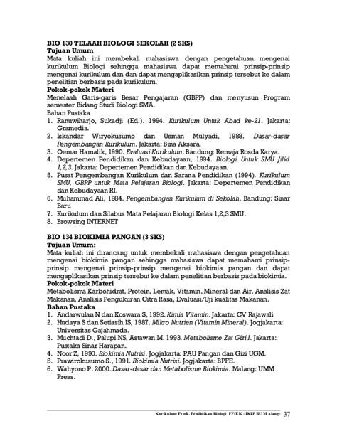Buku Biologi Jl 2 Ed 8 doct deskripsi matakuliah prodi biologi