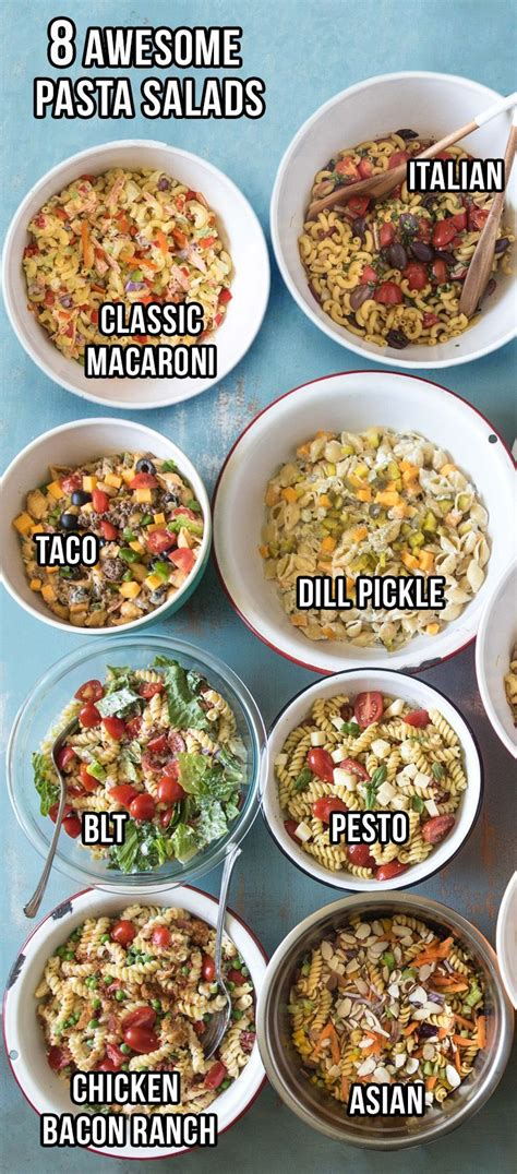 8 Of My Favorite Style Tips And Tricks by Healthy Recipes 8 Of My Favorite Pasta Salad Recipes