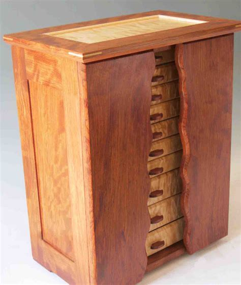 armoire jewelry box necklace holder beautiful handmade armoire jewelry box of