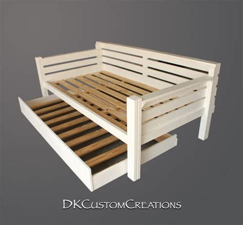 custom made daybed and trundle the trundle rolls out