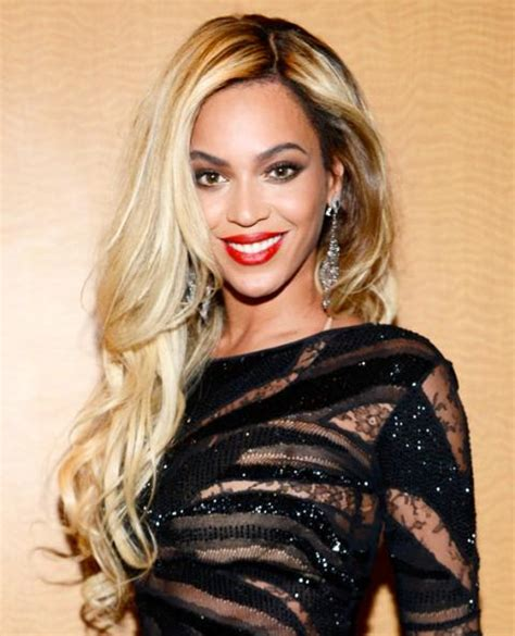 beyonce knowles hair colors beyonc 233 s platinum blonde is new york s most wanted hair