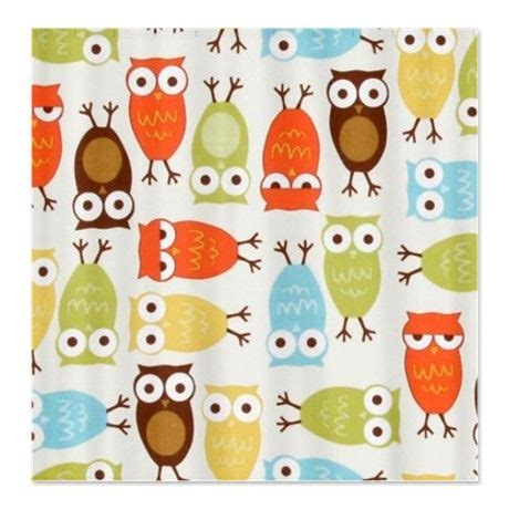owl peva shower curtain butterfly forest pattern shower curtain curtains owl