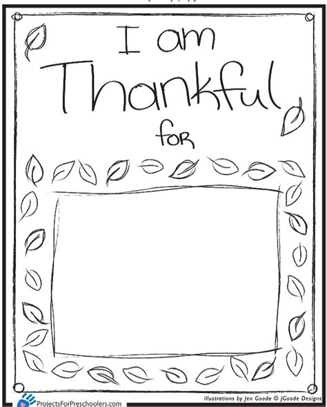 I Am Thankful For Coloring Page 6 best images of i am thankful for placemat printable i