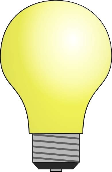 light clipart light bulb clip free vector in open office drawing svg