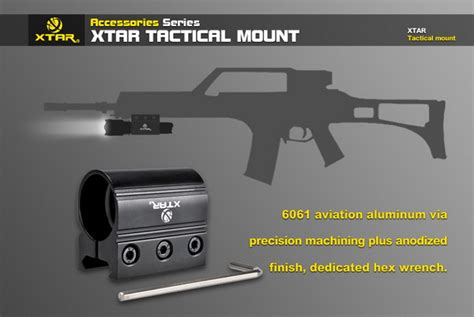 Gun Mount Senter 25 4mm xtar tactical weapon gun mount for tz20 tz60 and 25 4mm weaver picatinny rail ebay