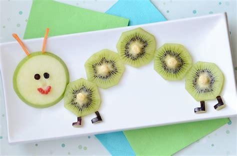 food art  fruity caterpillar snack  kids kix cereal