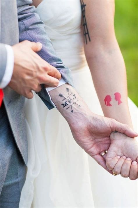 40 so cute mr and mrs tattoos for perfect couples